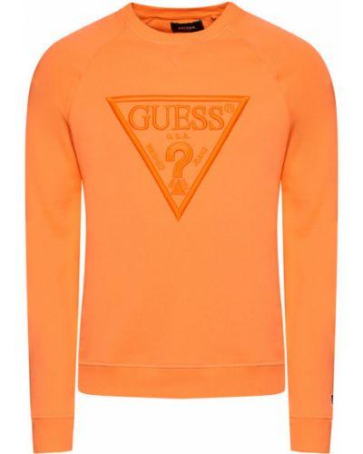 Pomarańczowa bluza Guess