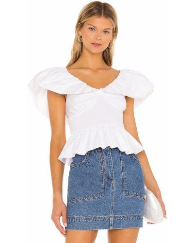 Koszulka bawełniana - biała Lpa