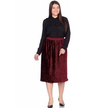 Плиссированная юбка велюровая Dream World
