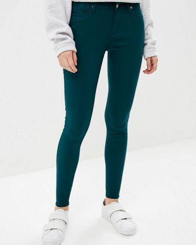 Зеленые брюки повседневные Softy