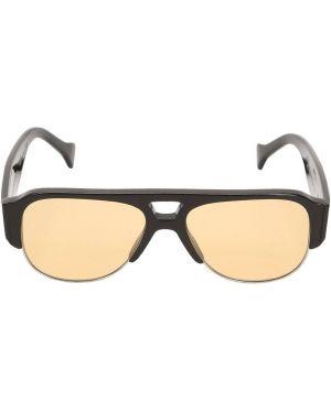 Czarne okulary Saturnino Eyewear