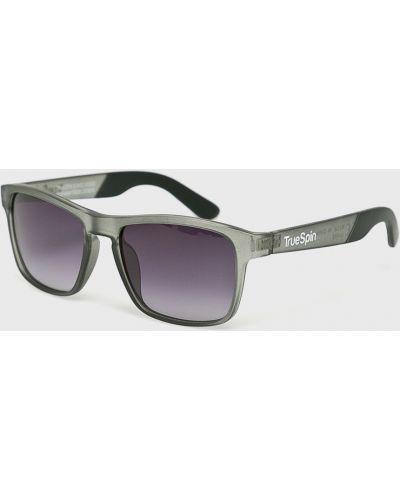 Солнцезащитные очки серые повседневный True Spin