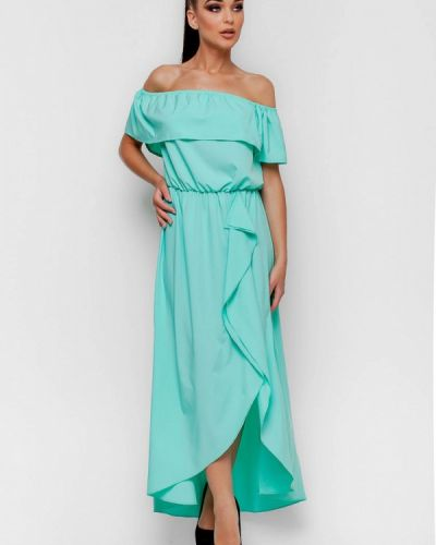 Бирюзовое платье Karree