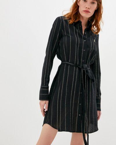 Черное платье Patrizia Pepe