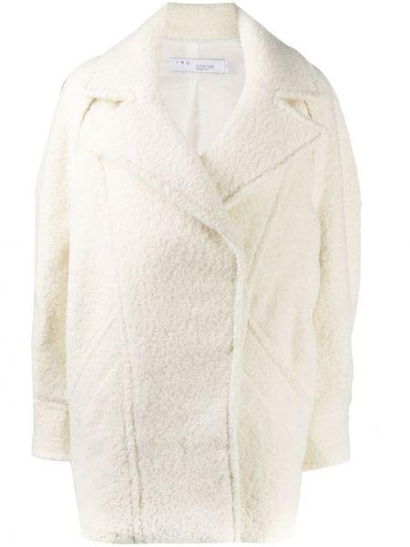 Свободное пальто оверсайз с воротником из альпаки Iro