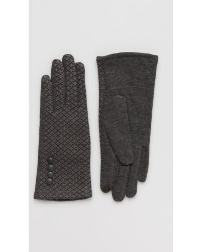 Перчатки текстильные серые Answear