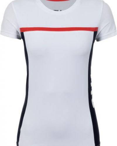 Спортивная футболка приталенная из полиэстера Fila