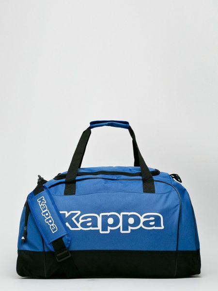 Сумка через плечо из полиэстера - голубая Kappa