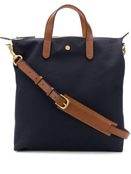 Синяя сумка-тоут Mismo