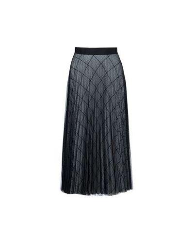 Серая плиссированная юбка Smarteez