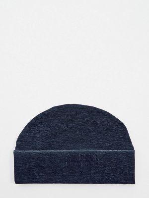 Синяя итальянская шапка Alberta Ferretti