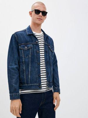 Синяя зимняя джинсовая куртка Levi's®