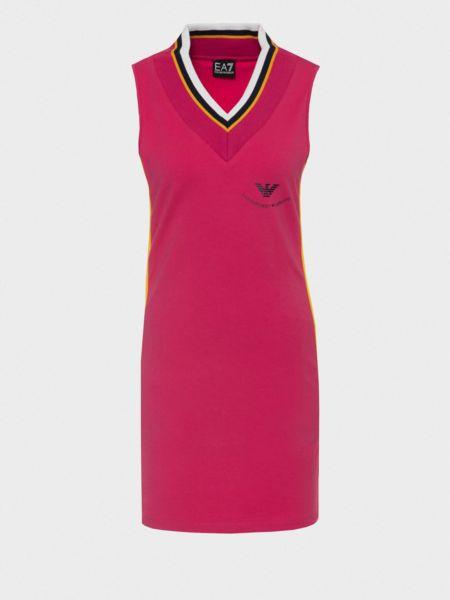 Спортивное платье для офиса Ea7