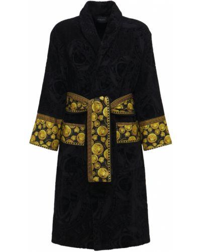 Szlafrok bawełniany Versace