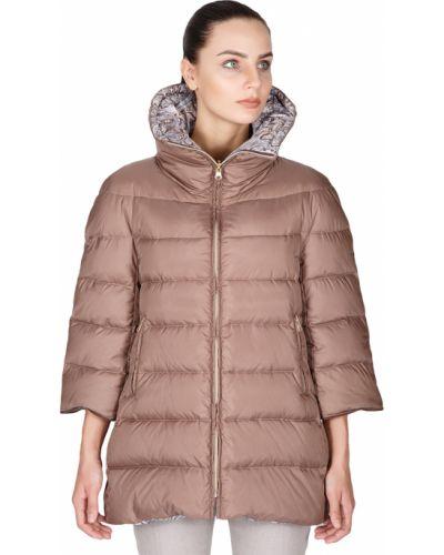 Куртка осенняя коричневая Tsarevna