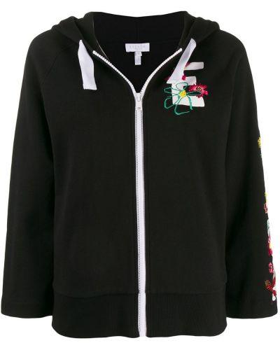 Куртка с капюшоном - черная Escada Sport