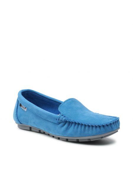 Niebieskie półbuty casual Nessi