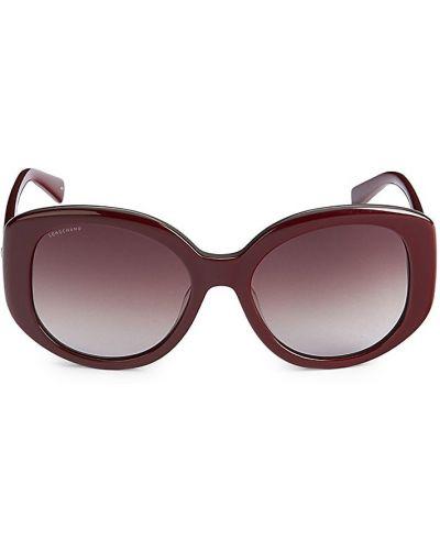 Солнцезащитные очки - бордовые Longchamp