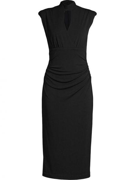 Платье миди средней длины - черное Nicole Miller