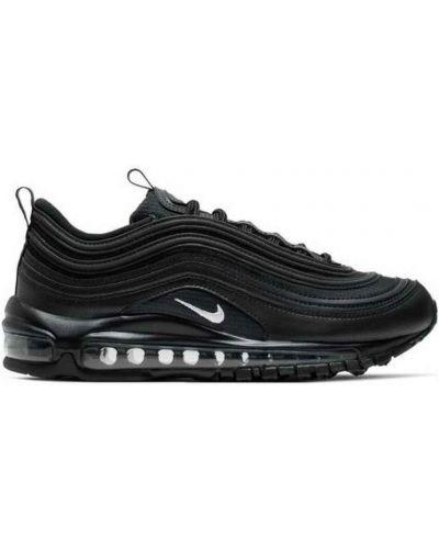 Klasyczne czarne sneakersy skorzane Nike