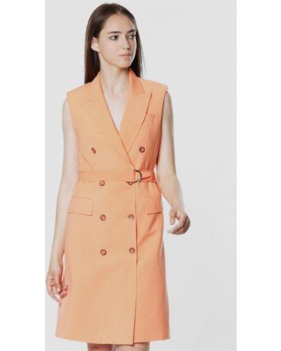Платье - оранжевое Arber