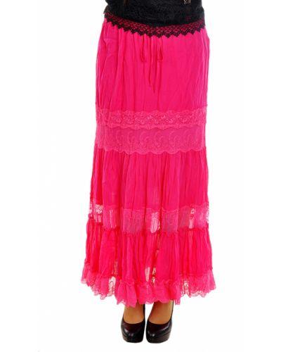 Хлопковая юбка - розовая Charo Ruiz