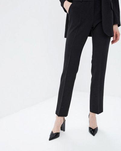 Черные классические брюки с карманами Camomilla Italia