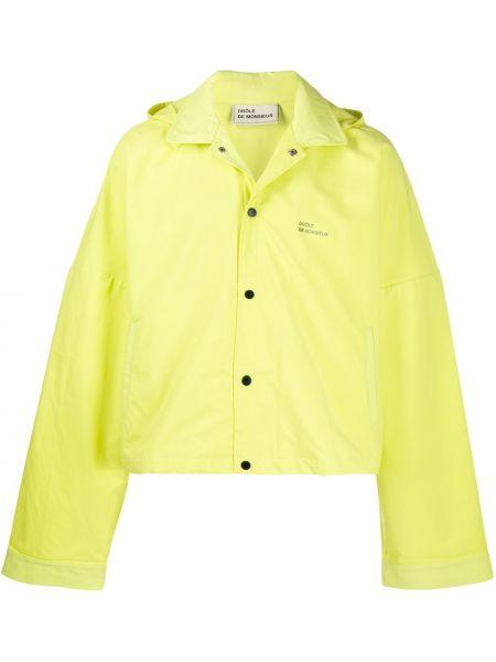Klasyczna żółta kurtka z kapturem Drole De Monsieur
