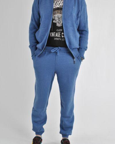 Базовые теплые джинсы с вышивкой Rozetka