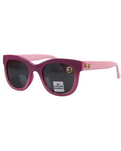 Красные солнцезащитные очки в полоску Gamestyle