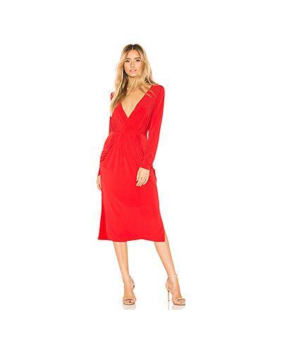 Платье с поясом с запахом с декольте Bcbgeneration