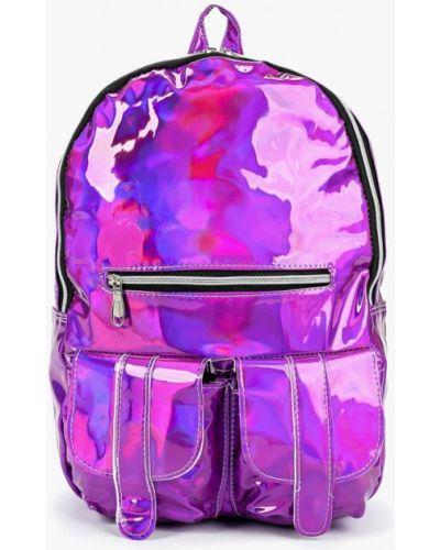Кожаный рюкзак - фиолетовый Kawaii Factory