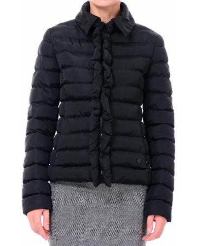 Черная куртка осенняя Love Moschino