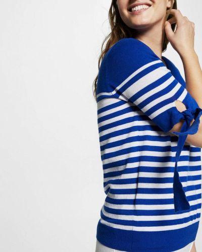 Синий пуловер Violeta By Mango