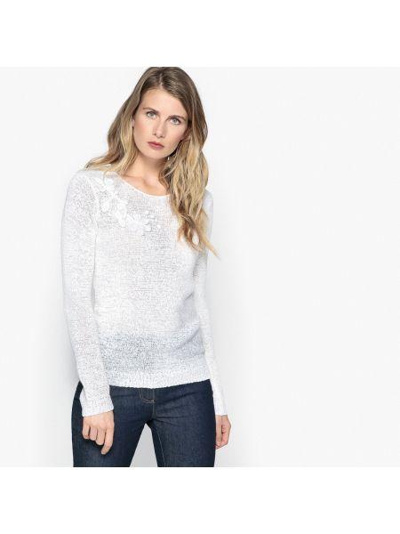 Пуловер свободного кроя с аппликацией Anne Weyburn