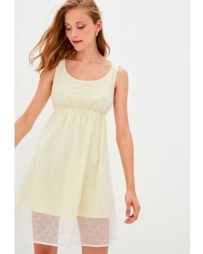 Повседневное кружевное платье мини Прованс