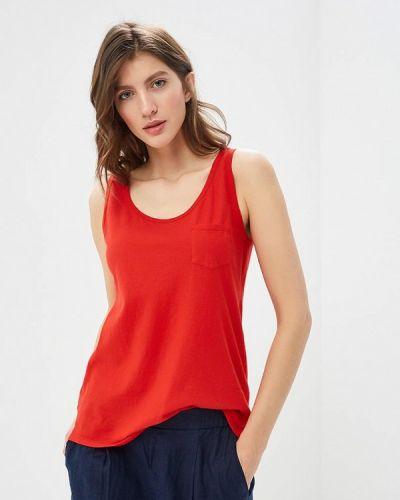 Майка красная United Colors Of Benetton
