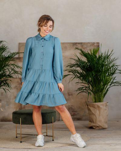 Платье - голубое Azuri