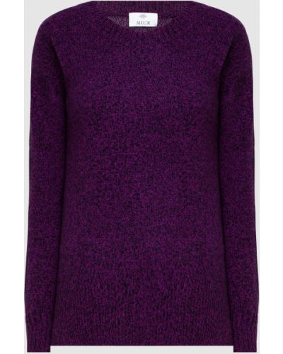 Фиолетовый кашемировый свитер Allude