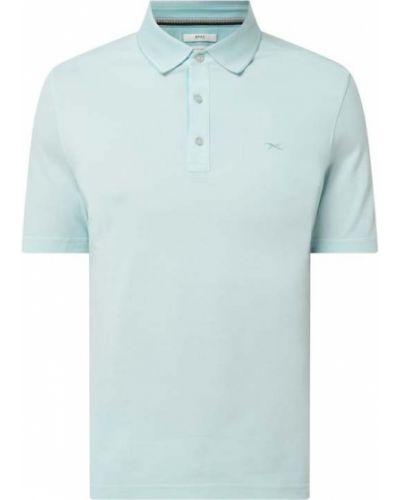 T-shirt bawełniana - turkusowa Brax