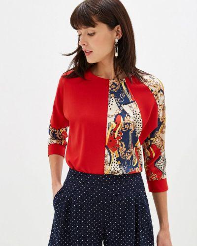 С рукавами красная блузка Mari Vera