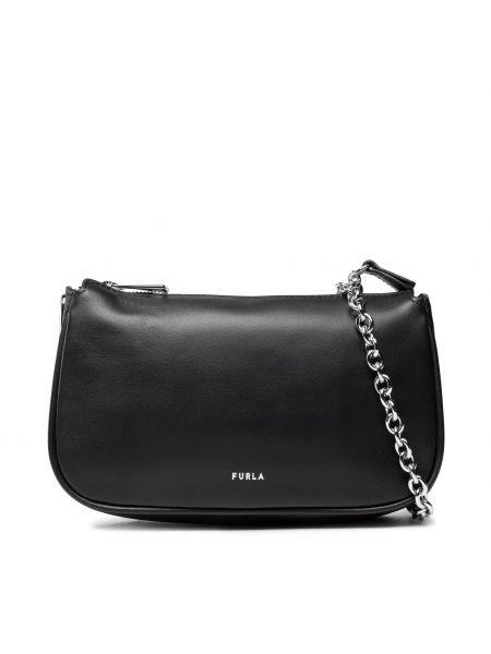 Czarna klasyczna torebka Furla