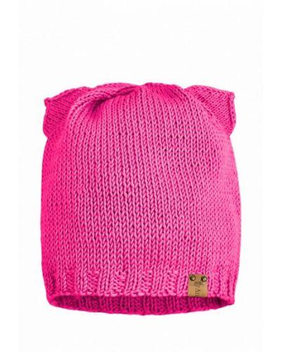 Шапка весенняя розовый Anmerino