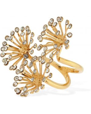 Żółty złoty pierścionek Ca&lou