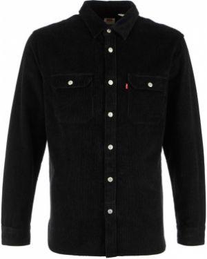 Рубашка с длинным рукавом вельветовая черная Levi's®