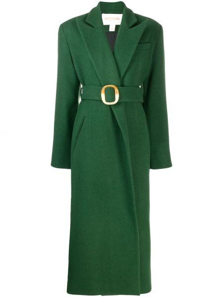 Длинное пальто с капюшоном Matériel