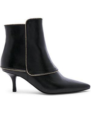 Buty na obcasie na pięcie czarne Anine Bing