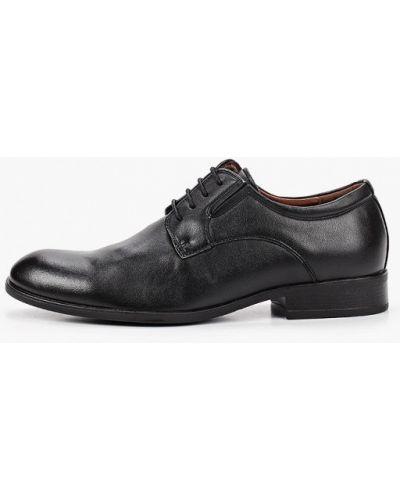 Кожаные черные туфли T.taccardi
