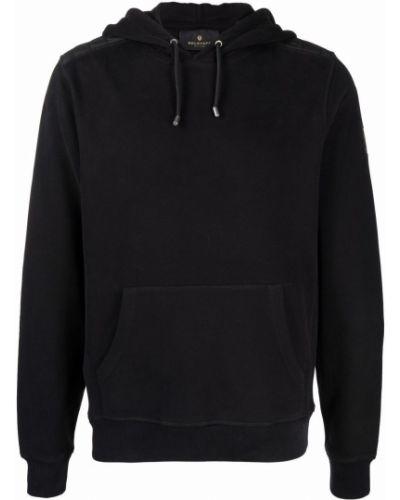 Bluza z kapturem - czarna Belstaff
