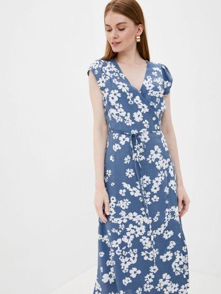 Платье прямое синее Gap